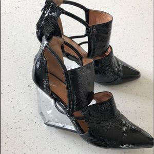 Rare Jeffrey Campbell Devandra heels/final sale